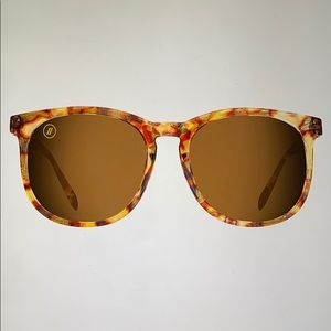 Blenders Tiger Tortoise Polarized Sunglasses